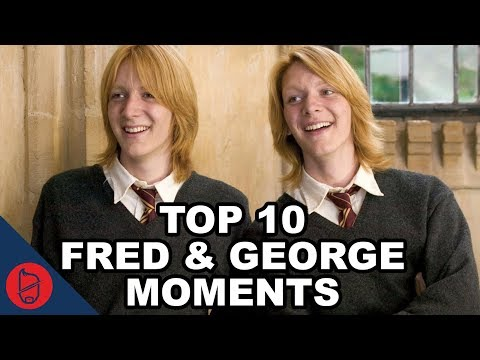 Top 10 Fred & George Moments In Harry Potter