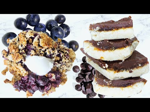 HEALTHY DESSERT RECIPES! EASY AND QUICK HEALTHY DESSERT IDEAS!