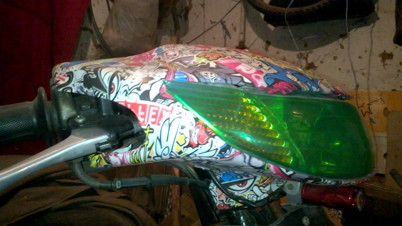 Bike stickers design for dio - Honda Dio Af34 Sticker Bombing