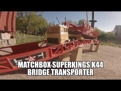 Matchbox superkings K44 Bridge transporter