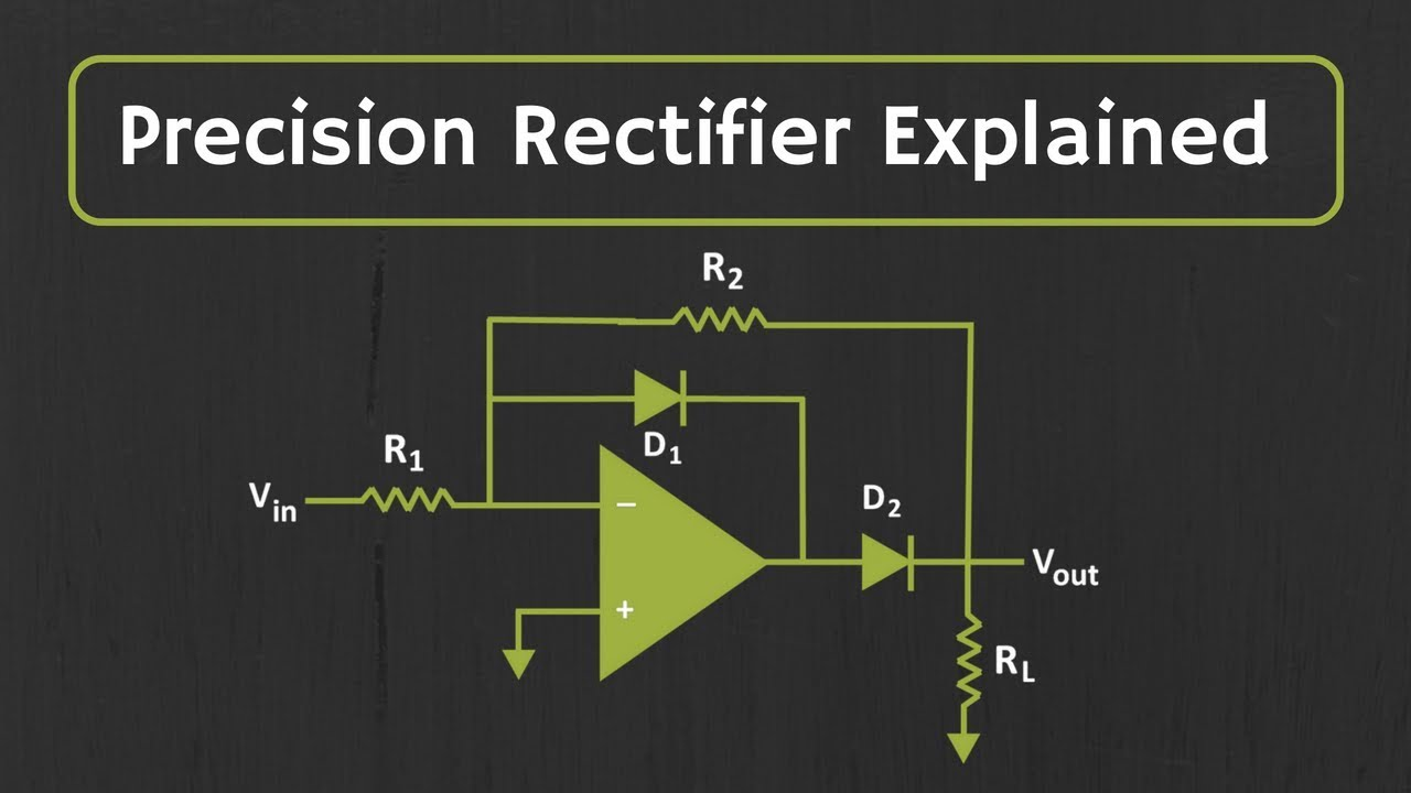 What Is Precision Rectifier Explained Youtube Diode Bridge Circuit Tutorial