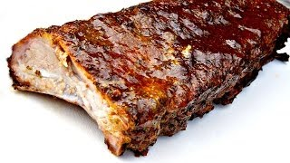 Rum & Coke Baby Back Ribs - Smoked Spare Ribs - Low And Slow Ribs