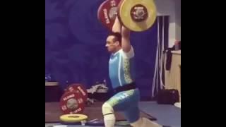 Илья Ильин толчок 200 кг