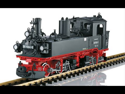 LGB 26843 DR Steam Locomotive, Road Number 99 1564-6