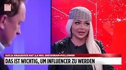 Bist du Millionärin, Katja? | Katja Krasavice über den Influencer-Beruf