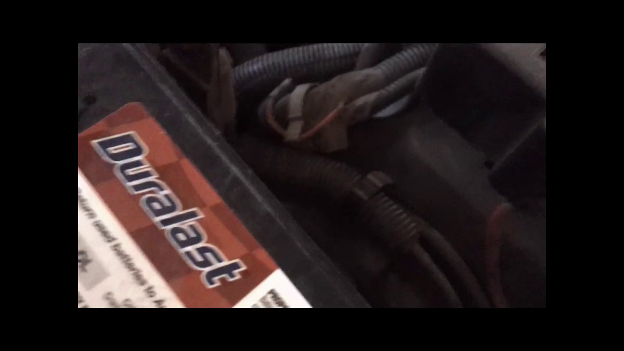 How To Change A Battery Gmc Envoy Chevy Trailblazer