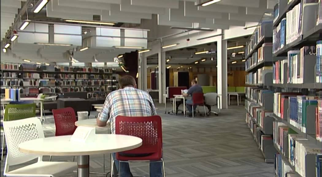 About The Library At Glasgow Caledonian University
