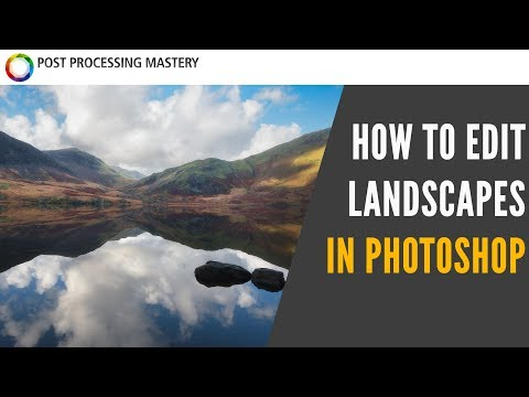 How To Process A Landscape Photo in Photoshop CC 2019 - Tutorial thumbnail