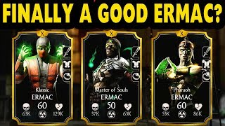 Скачать MKX Mobile 3 Ermacs Team Who Is The Best Ermac