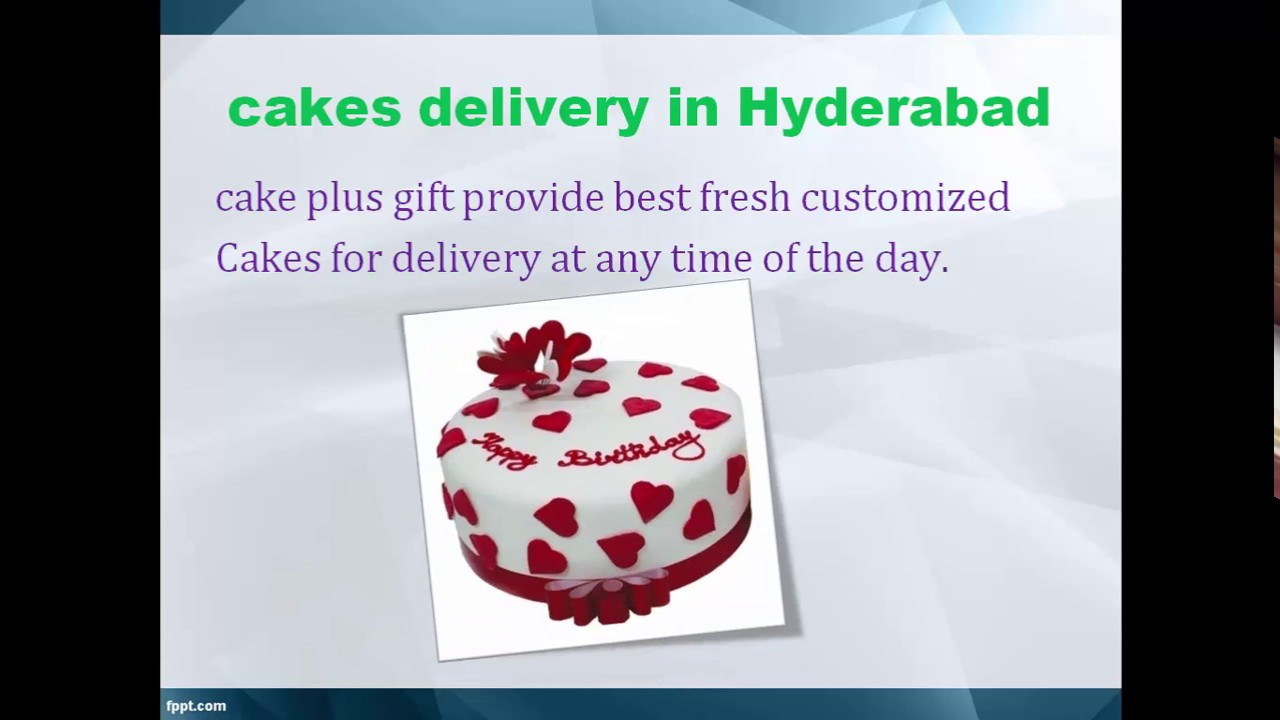 Online Cakes In Hyderabad Birthday Cakes Delivery In Hyderabad Youtube