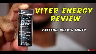 VITER ENERGY REVIEW (CAFFEINE BREATH MINTS)