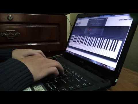 Kiss The Rain - Virtual Piano COVER