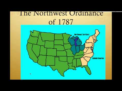 Land Ordinance vs Northwest Ordinance