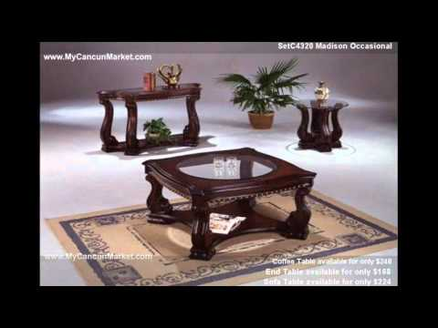 Cancun Market Furniture Coffee Table.wmv