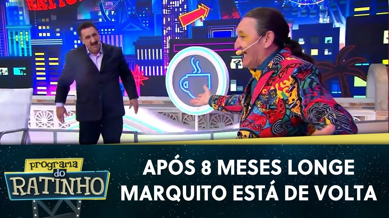 Download Marquito volta a participar do programa ao vivo | Programa do Ratinho (17/11/20)