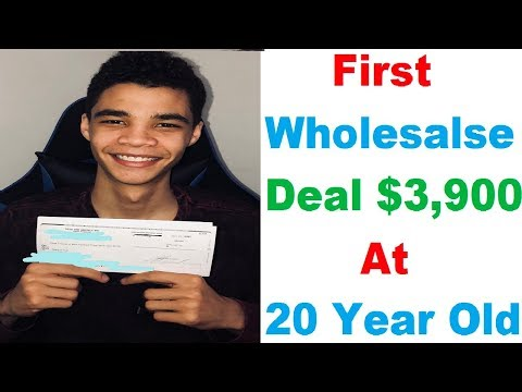 Subscriber First Wholesale Deal Interview #7: Marquis Hull- $3,900 In 10 Days ! Wholesaling Houses
