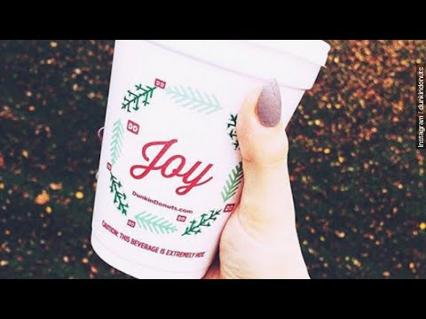 Christmas Music On Mix 96 Sponsored By... - Dunkin' Launches New Holiday Cups And Menu