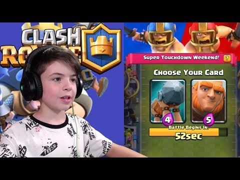 2v2 TOUCHDOWN CHALLENGE DRAFT - Clash Royale