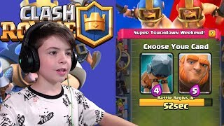 2v2 TOUCHDOWN CHALLENGE DRAFT - Clash Royale