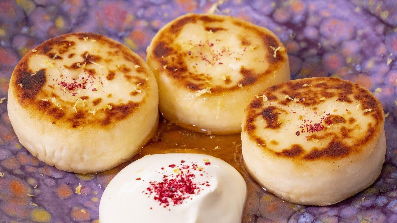 Самые нежные сырники. Творожные, а не мучные!!! Прекрасный завтрак в мое кафе.