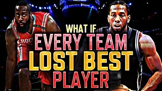 WHAT IF EVERY NBA TEAM LOST THEIR BEST PLAYER? NBA 2K17 MY LEAGUE