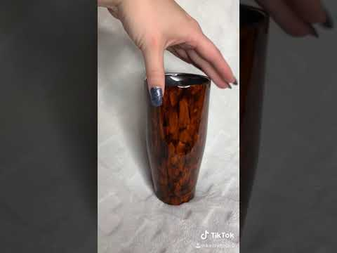 Woodgrain Hunter Thermal Tumbler by Kreative Kreations