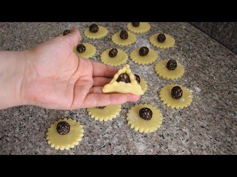 جديد حلوى هائلة بشكل جديد بدون طابع خاص سهلة جدا هشيشة ولذيذة