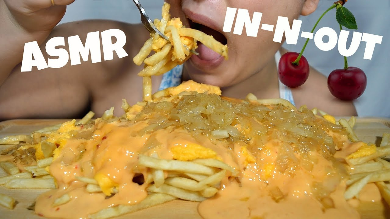 Asmr Animal Style French Fries Using Mcdonalds Fries Pink Asmr