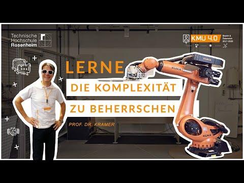 """Live-Stream der Lernexkursion """"proto_lab"""" an der TH Rosenheim im Forschungsprojekt KMU 4.0"""