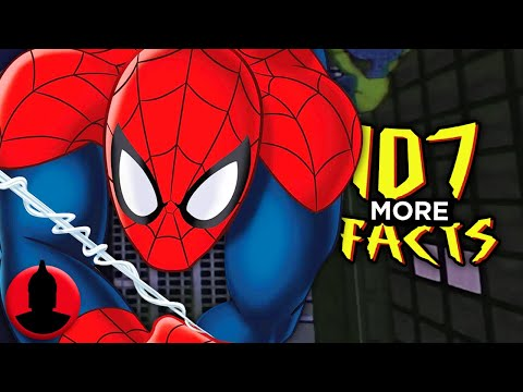 107 MORE Spider-Man Facts YOU Should Know! - Cartoon Facts! (107 Facts S6 E25)