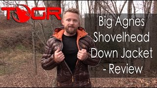 Warm, Light and Expensive! - Big Agnes Shovelhead Down Jacket - Review
