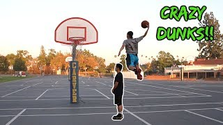 SUPER INSANE DUNK CONTEST!!! Video