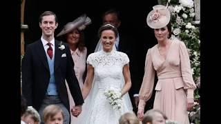 Свадьба сестры Кейт Миддлтон превратилась в сенсацию