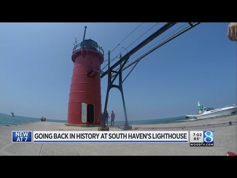 The history of the South Haven lighthouse