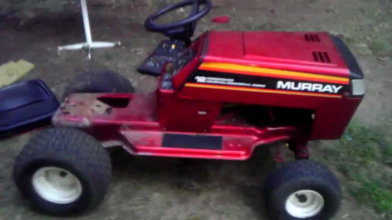 Murray Racing Pulling Mower Build Youtube