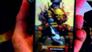 unboxing WoW Cataclysm collector