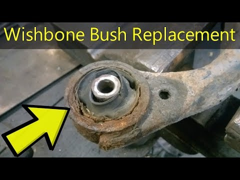 How To Replace A  Wishbone Bushing – Step By Step – Kia Sportage