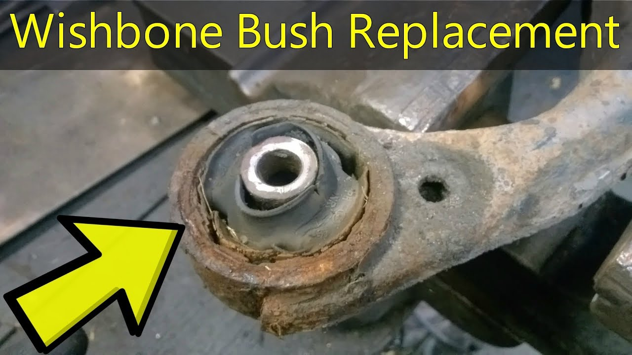 How To Replace A Wishbone Bushing Step By Step Kia