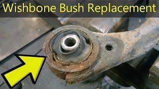 How To Replace A  Wishbone Bushing - Step By Step - Kia Sportage