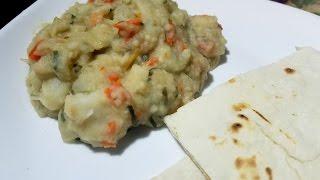 Zapętlaj Eddoes Talkari/ White Eddoes   Taste of Trini   Taste of Trini