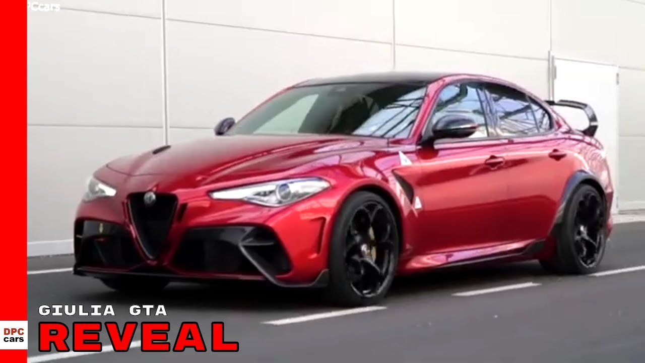 540HP Alfa Romeo Giulia GTA Reveal - YouTube