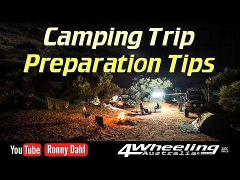 Camping Trip Preparation Tips