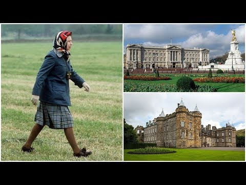 ★These Are All Of Queen Elizabeth's Homes