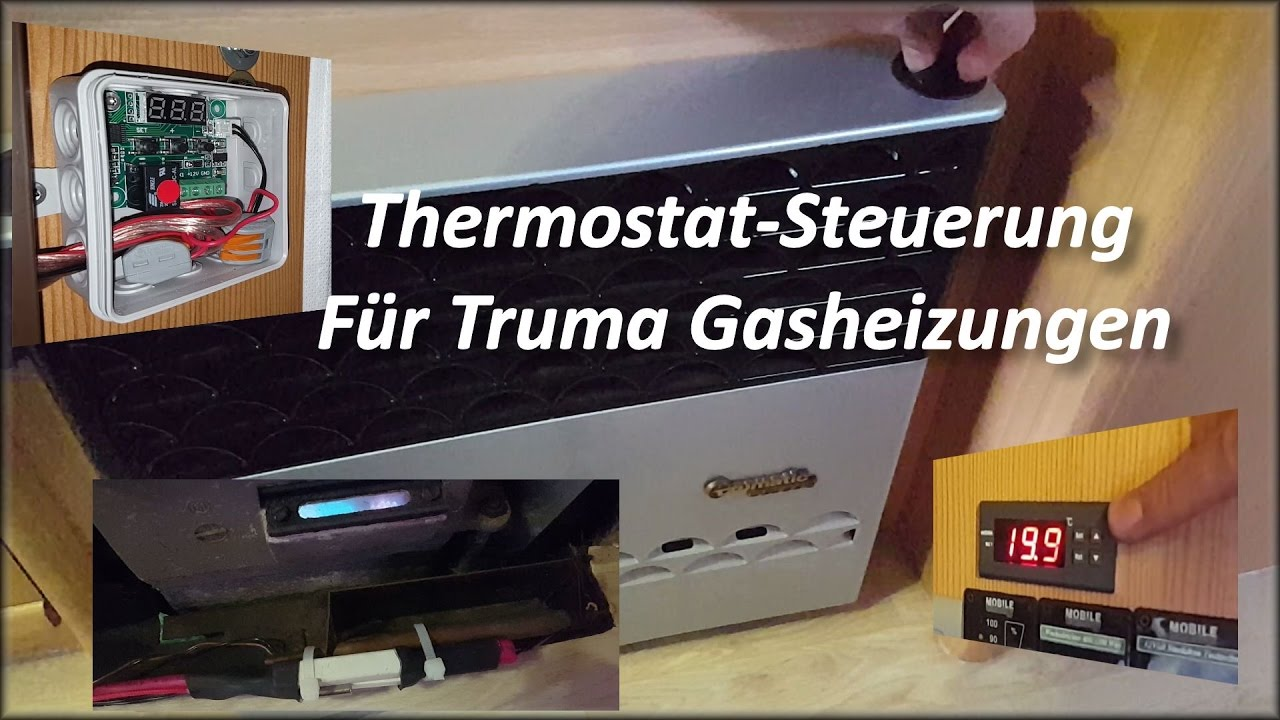 diy thermostat steuerung truma gas heizung trumatic. Black Bedroom Furniture Sets. Home Design Ideas