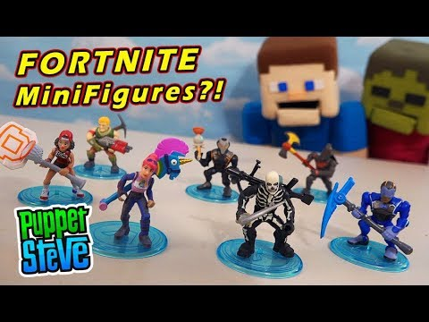 Fortnite Mystery Mini Blind Box Figures Rare Battle Royale Moose