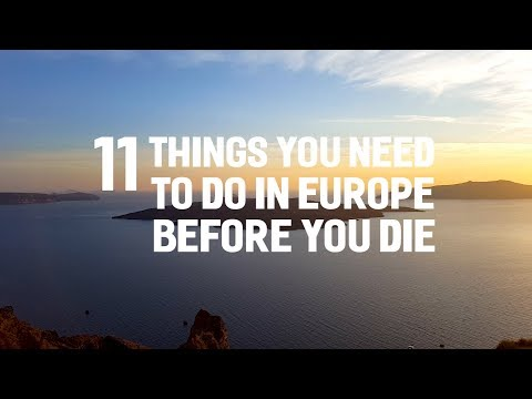 Where to Travel in Europe in Your 20s, 30s, 40s, and 50s