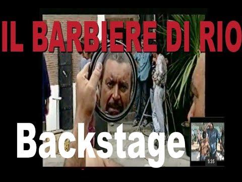 IL BARBIERE DI RIO Backstage di Marco Limberti