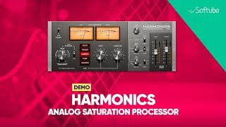 Harmonics Analog Saturation Processor Demo – Softube