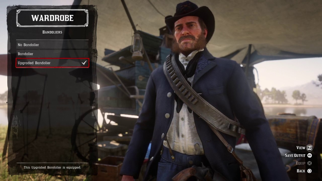 Red Dead Redemption 2 CUSTOM Civil war outfit