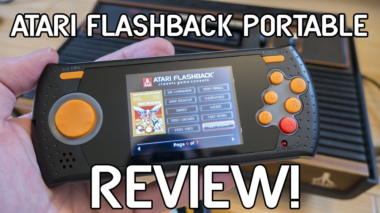 Atari Flashback Portable Review!